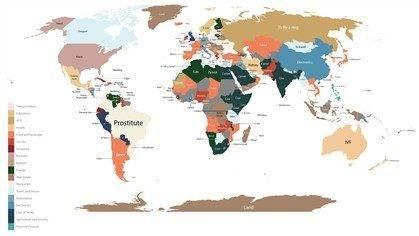 Como é que o Google americano vê o mundo (1)