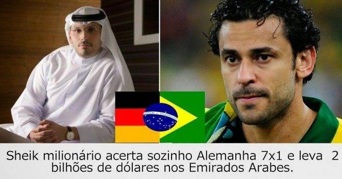 FBI informa que Brasil vendeu o jogo da Alemanha num esquema de corrupção