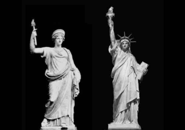 A adoração secreta dos Illuminati: A Estátua da Liberdade é Anunnaki Deusa Inanna