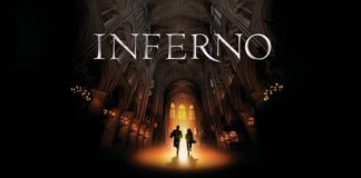 "Capa do filme ""Inferno"""