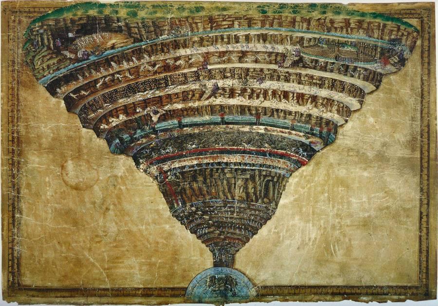 O Mapa do Inferno