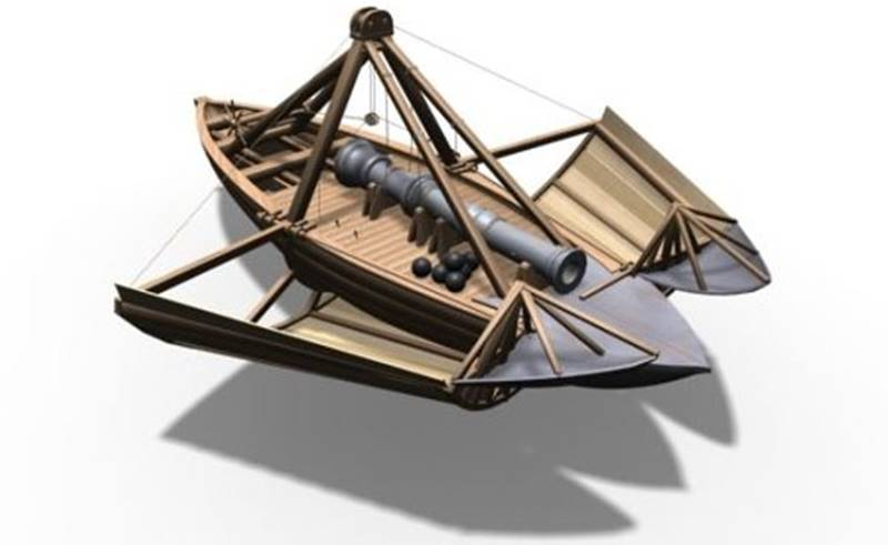 Barco encouraçado - Máquinas de Guerra de Da Vinci