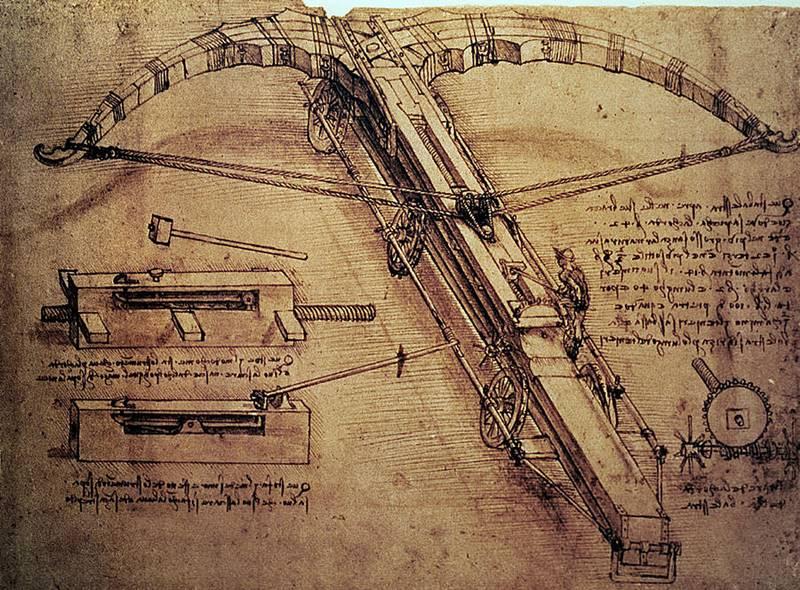 Besta gigante - Máquinas de Guerra de Da Vinci