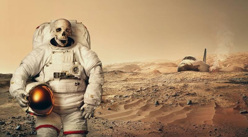 Os riscos da viagem para Marte