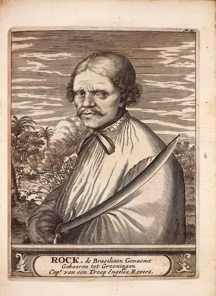 Roque brasileiro, um dos muitos piratas brasileiros