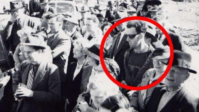 A história do homem de óculos escuros que voltou ao passado - Viajantes no tempo