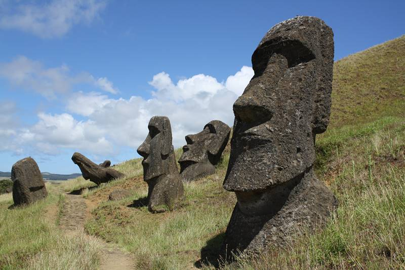 Vilarejos mais Isolados - Ilha de Páscoa