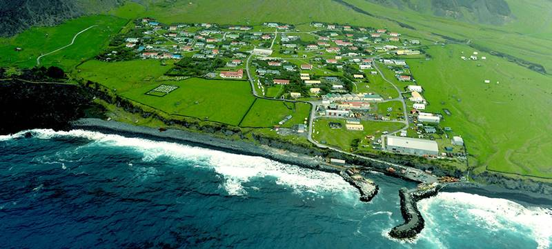 Vilarejos mais Isolados - Tristão da Cunha