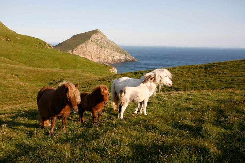 Vilarejos mais Isolados - Ilha de Foula