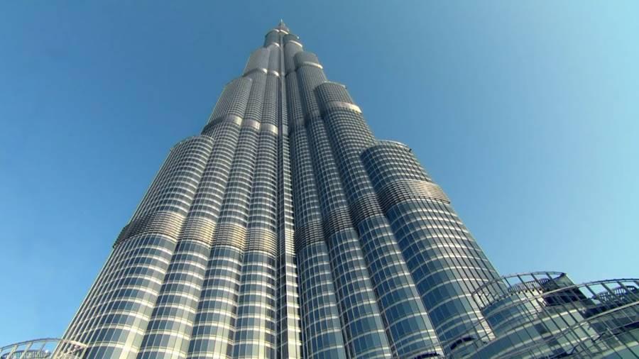 Construção do edifício mais alto do mundo
