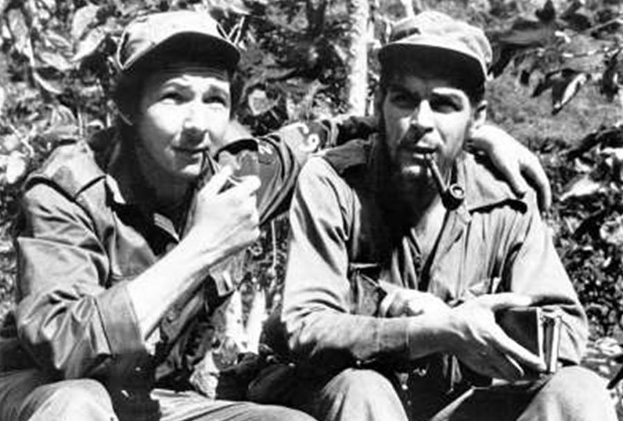 Fidel Castro e seu irmão Raúl