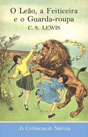 Capa de O Leão, a Feiticeira e o Guarda-Roupa - um dos livros mais vendidos da história