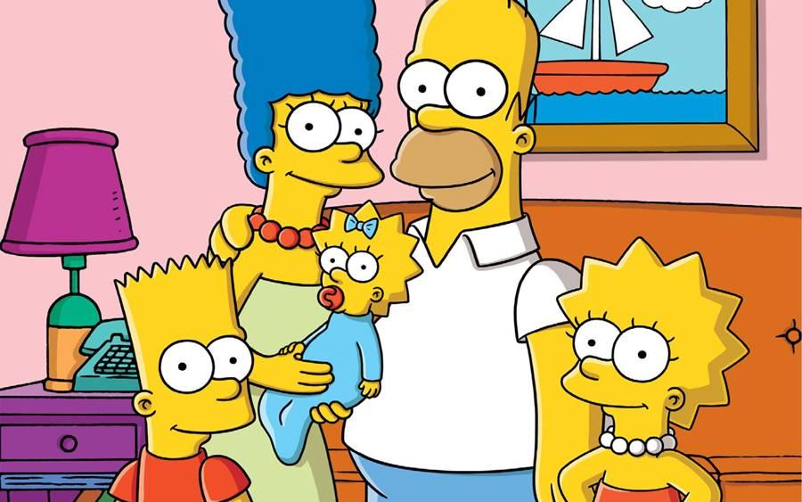 Os Simpsons, um dos desenhos mais polêmicos dos anos 90