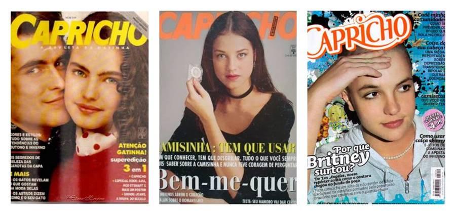 Capricho, uma das revistas impressas brasileiras que saiu de circulação