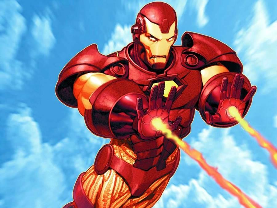 Homem de Ferro e suas armaduras
