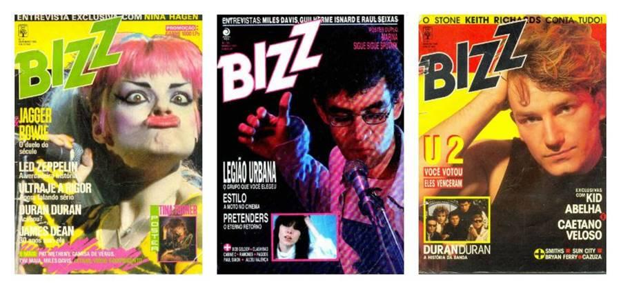 Bizz, , uma das revistas impressas brasileiras que saiu de circulação