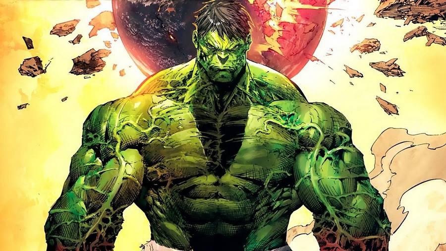 Hulk o mais forte fisicamente