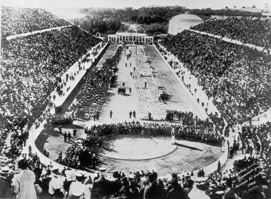 A primeira edição dos Jogos Olímpicos da Era Moderna