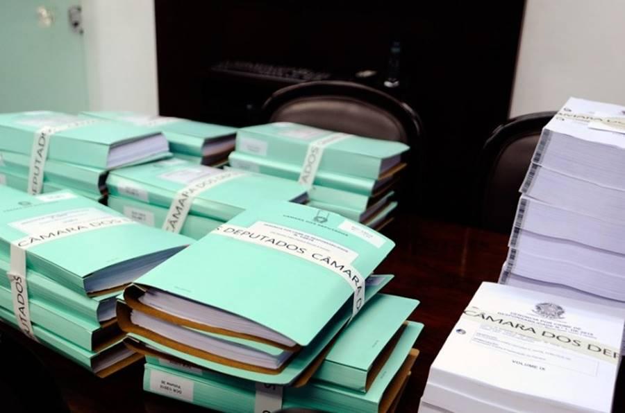 Os documentos para o processo de impeachment