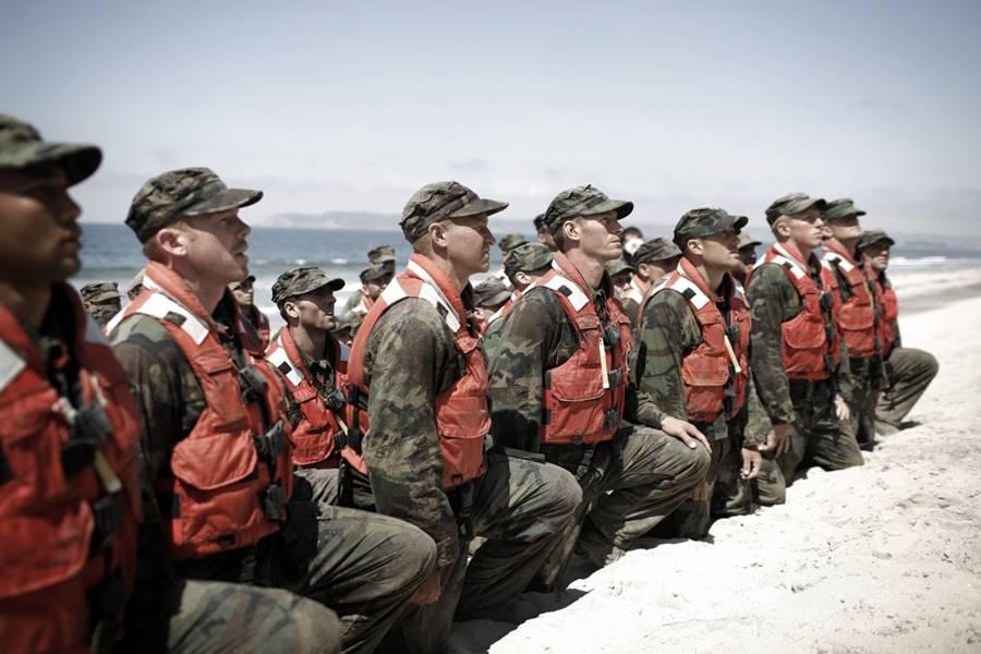 Parte do treinamento do Navy SEALs