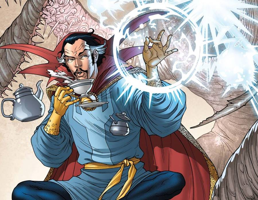 Doutor Estranho e o uso da magia