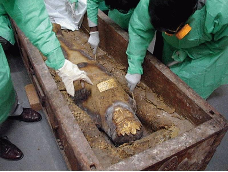 A Múmia de Rhodugune, outra das várias fraudes arqueológicas