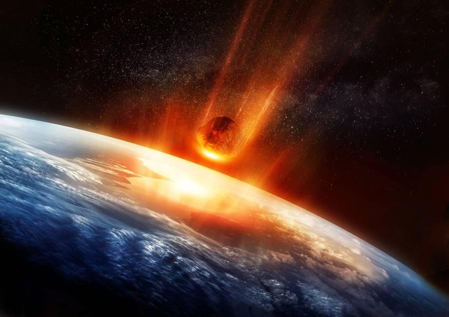 Asteroide vindo em direção a Terra