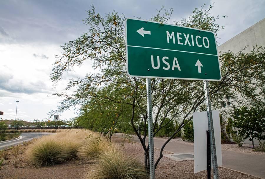 Fronteira entre o México e os Estados Unidos