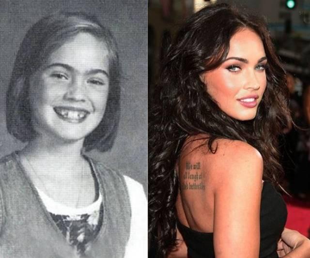 Celebridades que eram feias -  Megan Fox