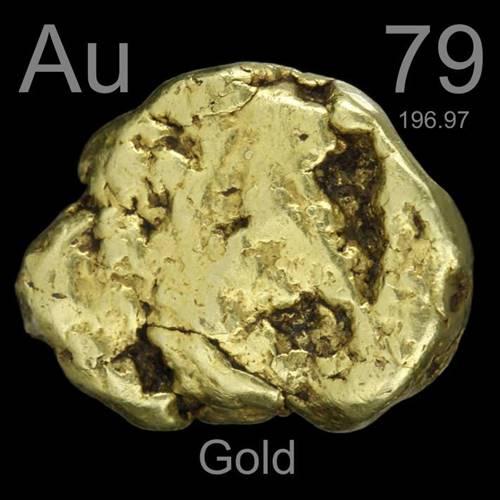 Ouro, um dos metais mais valiosos do mundo