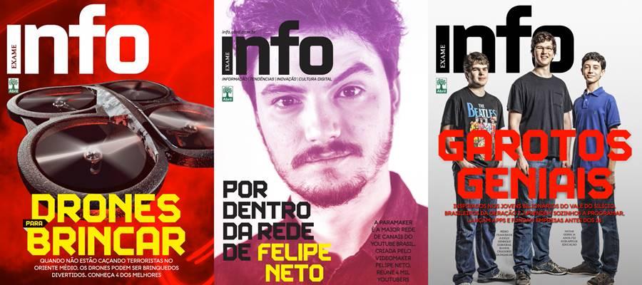 INFO, uma das revistas impressas brasileiras que saiu de circulação