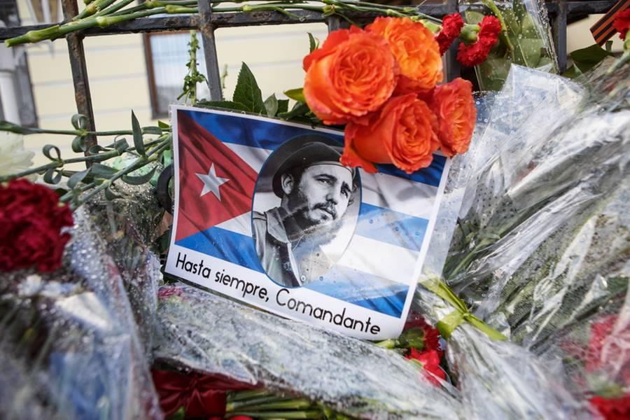 A morte de Fidel Castro