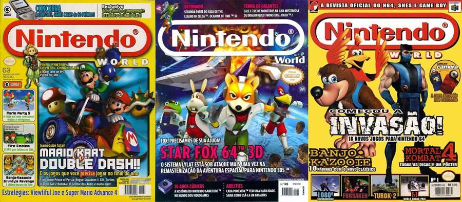 Nintendo World, uma das revistas impressas brasileiras que saiu de circulação