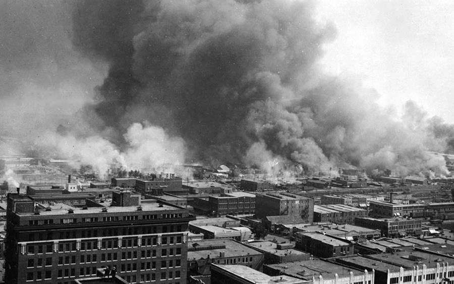 Tusla, em Oklahoma, em guerra