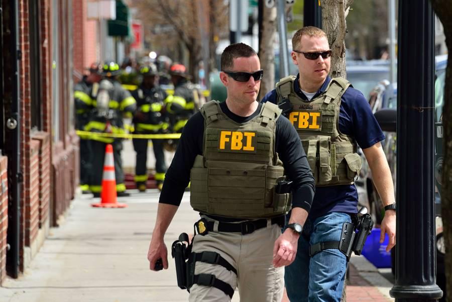 Agentes em treinamento do FBI
