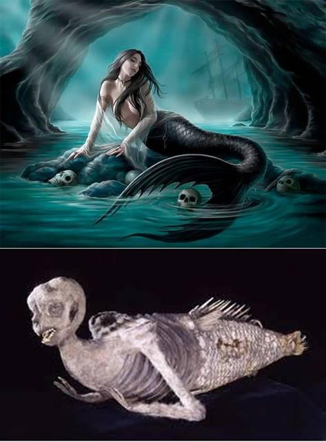 A sereia de Fiji, uma das maiores fraudes arqueológicas