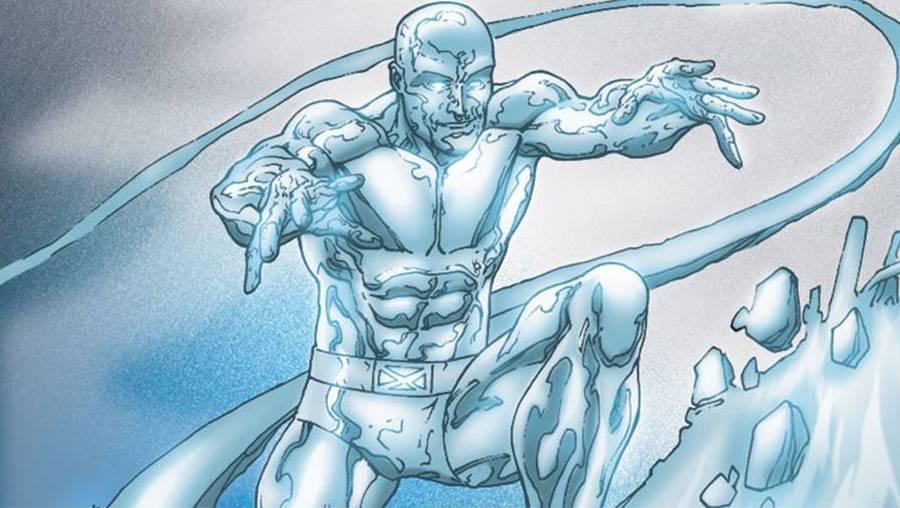 Homem de Gelo superpoderoso