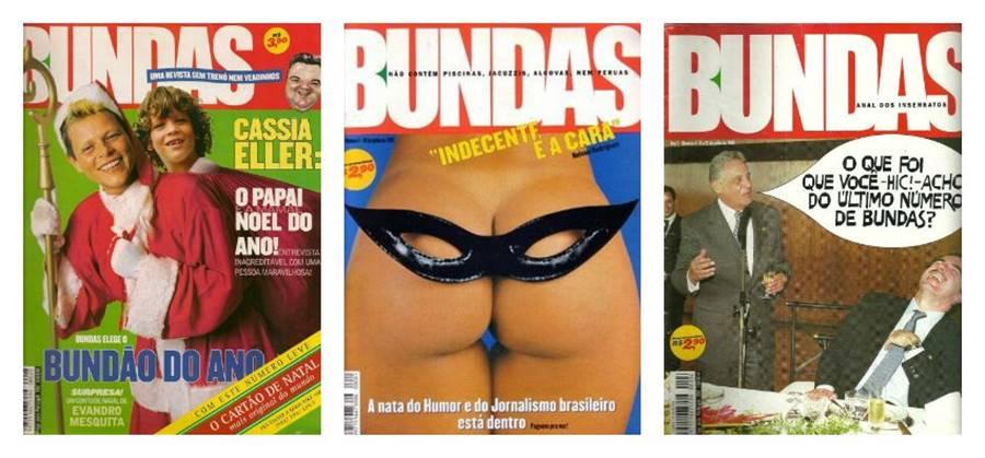 Bundas, uma das revistas impressas brasileiras que saiu de circulação