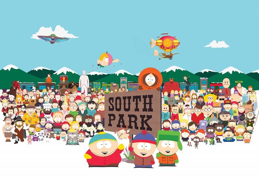 South Park, um dos desenhos mais polêmicos dos anos 90