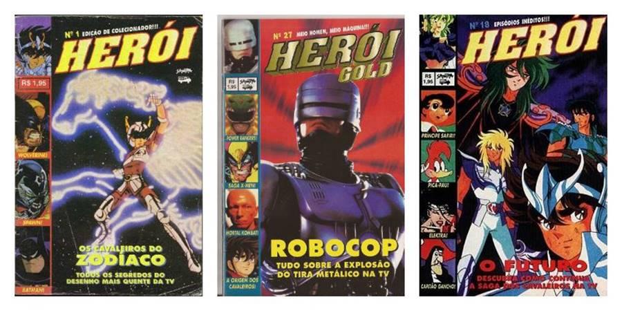 Herói, uma das revistas impressas brasileiras que saiu de circulação