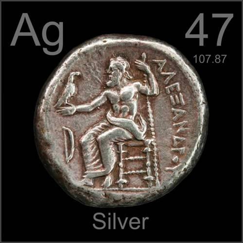 Prata, um dos metais mais valiosos do mundo