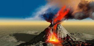Vulcão e bomba atômica