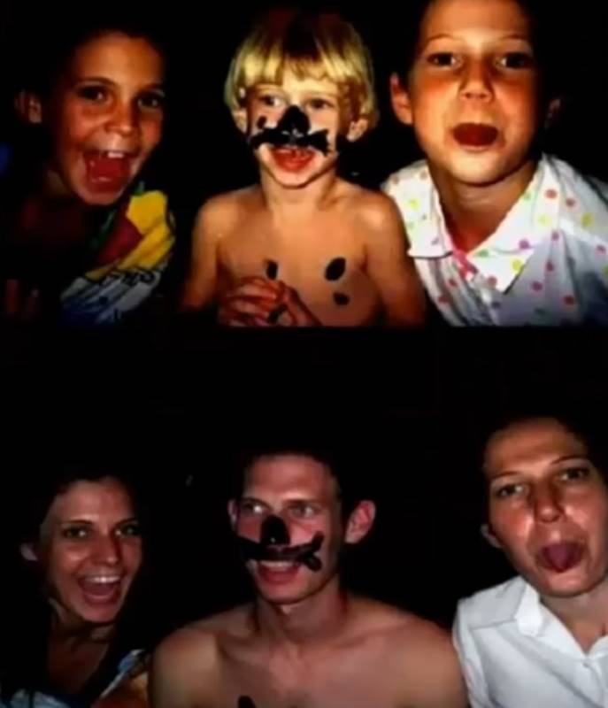 Fotos da infância