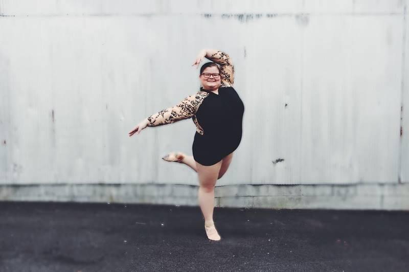 Bailarina plus size