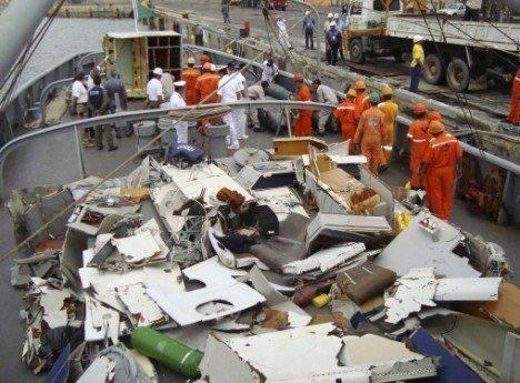 af447, Air France acidente, crash, destroços do voo, David Robert, Cedric Bonin,
