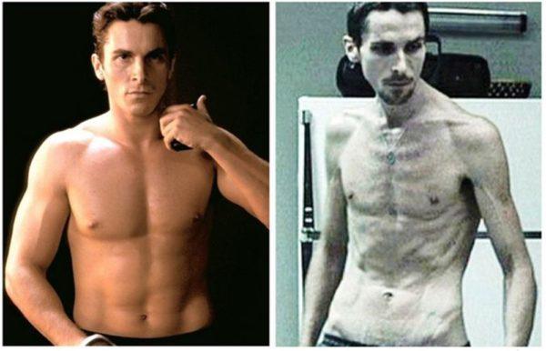 Transformações extremas de celebridades para o cinema