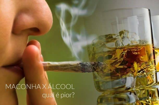 Maconha ou Álcool, qual é pior para a saúde? (1)