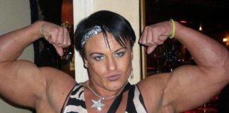 Vício em esteroides transformam uma mulher em homem (1)