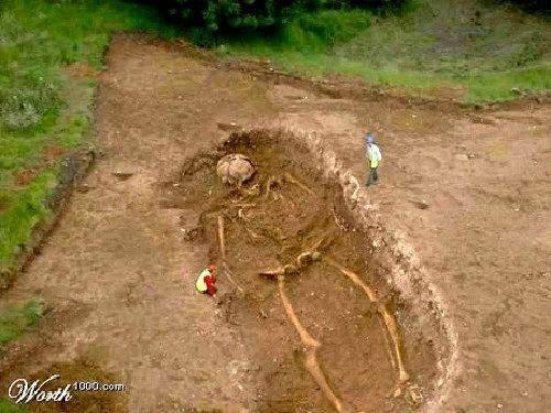 Fotos mostram claramente a evidência da existência de gigantes na Terra (7)