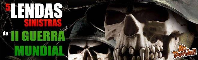 O Relatório dos Mortos, as almas do Pacífico Sul, o Holandês Voador e a Normandia Negra conheça as lendas mais sinistras da Segunda Guerra Mundial